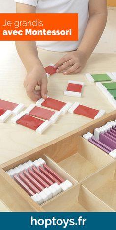 Une sélection de jeux et d'objets Montessori permettant aux enfants de développer leur autonomie, d'en apprendre plus sur leur environnement et de grandir de la plus belle des manières, c'est à dire sereinement et avec bienveillance. Montessori, Plus Belle, Dire, Jouer, Growing Up, Infancy, Tutorial Sewing, Environment, Objects