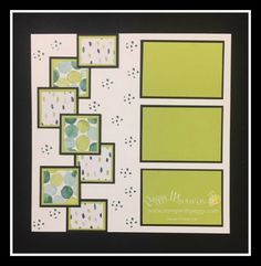 Epic Celebrations Stamp Set, Naturally Eclectic Designer Paper, March Scrapbook, St. Patrick's Day