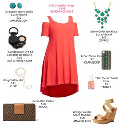 Boho accessories make this dress really stand out. @bloomingdales @amazon @zappos @netaporter @fossil @target @cuspbynm @karmaloop