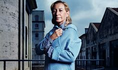 "Miuccia Prada speaks her mind. When asked about whether she would be doing  a collaboration with a fast fashion retailer, such as H&M or Topshop, she  was quick to respond: ""[I've] never even considered it. I don't like the  idea of a bad copy."" And she did not hold her tongue there. Prada, who  oversees the design of both her main collection and the house's little  sister line, Miu Miu, continued on to say: ""If I had an ingenious idea to  do fashion that costs less but that wasn't a bad…"