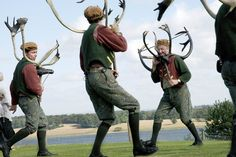Abbots Bromley Horn Dancers, Staffordshire, 2006