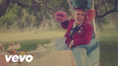 "Pink - Just Like Fire (From the Original Motion Picture ""Alice Through The Looking Glass)"