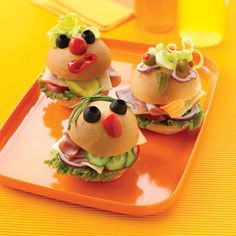 Recipes of cute-looking sandwiches for kids - Google Search