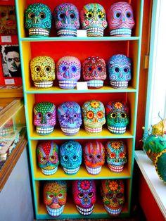 FOR CRAFT NIGHT: Decorate plain skulls