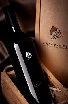 KINGS STRIDE - Cabernet Sauvignon on Behance