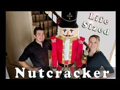 This video shows how we painted our life size nutcracker that we made from scratch! Check out this link to see the video where we explain how we mad. Christmas Arts And Crafts, Christmas Projects, Handmade Christmas, Christmas Crafts, Christmas Holiday, Holiday Decor, Hallway Decorating, Porch Decorating, Decorating Ideas