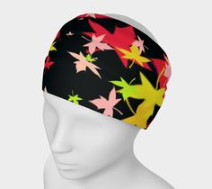 """headband can also double as a scarf / neckwrap. Headband+""""Leaf+Print+Headband""""+by+Scott+Hervieux+Photography,+Art,+and+More"""