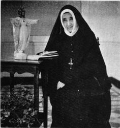 Mother Marie-Therese de Lescure (1884-1957) Superior General of the Society of the Sacred Heart 1946 to her death.
