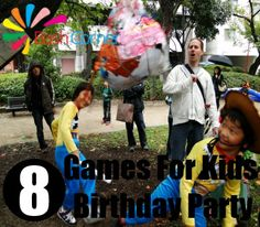 Games For Kids Birthday Party