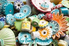 my ceramic beads http://bine-braendle.de/toepfern/