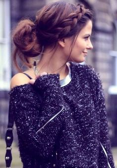 Relax braid/bun  #HairStyle
