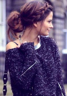Relax braid/bun  #HairStyle