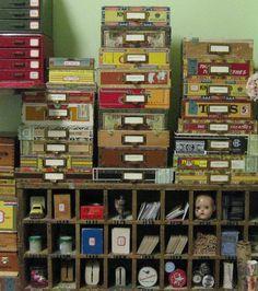 using cigar boxes