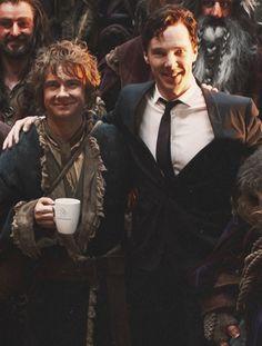 Sherlock & Watson in middle earth.
