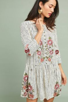 Shop the Pansy Embroidered Drop-Waist Dress and more Anthropologie at Anthropologie today. Read customer reviews, discover product details and more.