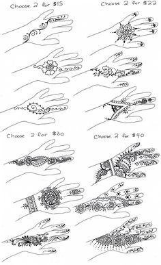 Simple henna designs                                                                                                                                                     More