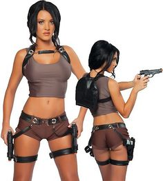 Sexy Adventurer Costumes for Women who like to raid tombs, Tomb Raider