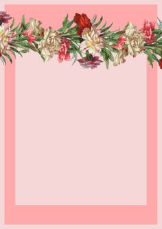 FREE printable vintage flower stationery (-perfect for mother's day greetings)