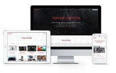 TAKEOFF Creative website