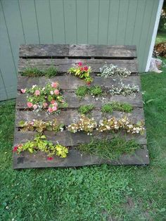 25 Inspiring DIY Pallet Planter Ideas | 101 Pallet Ideas - Part 2