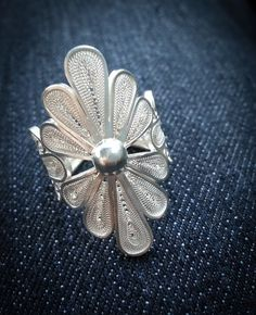 Jewelry Box Filigree jewelry Handmade - My Valentine gift - Filigree Jewelry, Filigree Ring, Silver Filigree, Sterling Silver Jewelry, Gold Jewelry, Jewelry Box, Jewelry Accessories, Jewelry Making, Jewellery