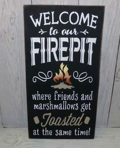 Welcome to the fire pit...