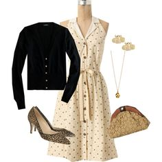 dressed up honeyed life, created by shopwithm on Polyvore