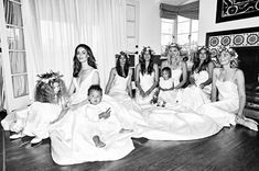 Model Nicole Trunfio and Texan blues musician Gary Clark Jr wed in Palm Springs during the Coachella music festival, where they fell in love four years earlier. The event was a model-filled affair, with many of Trunfio's closest friends models themselves. The bride with bridesmaids Gemma Ward and Jessica Gomes. Dress: Steven Khalil Reception dress: Yolan Cris Rings: Trunfio Universe Shoes: Sophia Webster Hair: Cassie Harwood Make-up: Victoria Baron ...