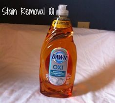 Dawn Oxi dish soap review {on Stain Removal 101} Dawn Dishwashing Liquid, Dawn Dish Soap, Household Cleaning Supplies, How To Remove, Ideas, Products, Thoughts, Gadget