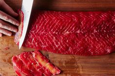 How to Make Beet-Cured Salmon