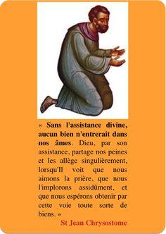 "St Jean Chrysostome ""Sur la prière"""