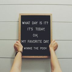 Letter board quotes Winnie the Pooh quotes great day The Made Dwelling Word Board, Quote Board, Message Board, Felt Letter Board, Felt Letters, Quotes To Live By, Me Quotes, Funny Quotes, Winnie The Pooh Quotes