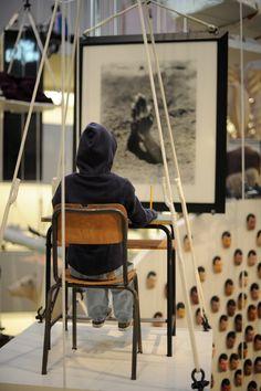 Cattelan exhibit in NYC Exhibit, All Art, Nyc, Artwork, Furniture, Home Decor, Work Of Art, Decoration Home, Auguste Rodin Artwork