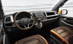 Volkswagen TRISTAR Concept: Off-Road met espressomachine - Vagpro. Vw T5, Vw Syncro, Auto Volkswagen, Volkswagen Group, Volkswagen Transporter, Commercial Van, Commercial Vehicle, Bugatti, Lamborghini