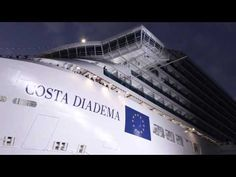 Costa Diadema : baptême du paquebot à Gênes   Blog Escale croisière  Costa Diadema Christening in Genoa  7 novembre 2014