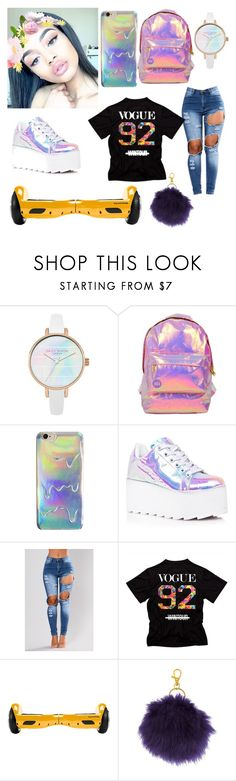 """""""Holo Baby😋👄❤️"""" by majesticqveenn ❤ liked on Polyvore featuring Miss Selfridge, Y.R.U. and Capelli New York"""