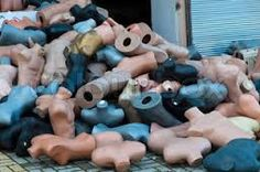 Image result for pile of mannequins