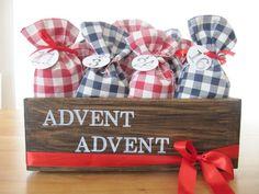 Adventskalender - Adventskalender - ein Designerstück von margarisa bei DaWanda
