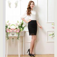 812e5450103 2017 Black Victorian Lace Sexy Skirt Gothic Skirts For Women Matching  Corset Fashion Lolita Skirt Women Empire Pencil Skirt
