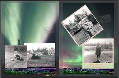 SUSAN EISENHAUER & FRIEND, HOMER, TERRITORY OF ALASKA by Myrtis Wright 1953/54