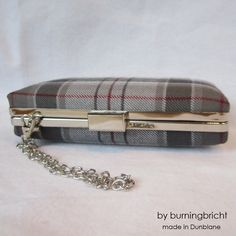 MacRae Tartan Clutch Purse /Dress Modern Colours Tartan /Bag/ Made in Scotland for Ceilidh / Wedding or Special Occasion by burningbricht on Etsy