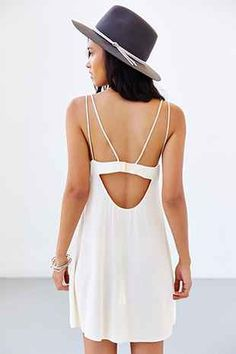 Silence + Noise Double Spaghetti-Strap Slip - Urban Outfitters