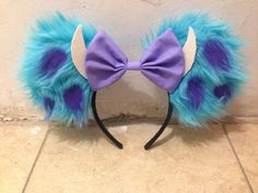 Sully Minnie Mouse Ears by OneBowTwoBows on Etsy More