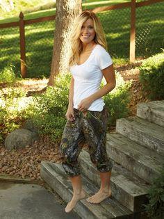 camo capris for women | Women's Camo Casual Capri Pants - Casual Wear - Women