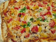 Grilled Ranch Pizza Recipe