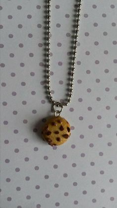This item is unavailable Ball Chain, Chocolate Chip Cookies, My Etsy Shop, Pendant Necklace, Check, Gifts, Handmade, Shopping, Jewelry