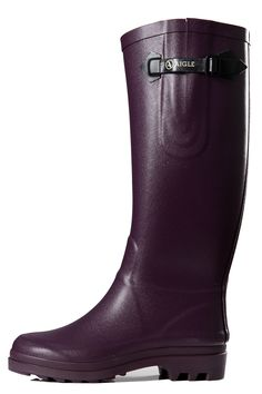 AIGLENTINE - AUBERGINE Boots ~ I must have these!!!