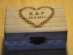 Krabička na prstýnky :)