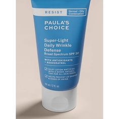 Paula's Choice Resist Super-Light Daily Wrinkle Defense Lightly Tinted SPF30 60ml - Feelunique