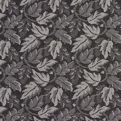 The K7811 ONYX/LEAF upholstery fabric by KOVI Fabrics features Foliage, Small Scale pattern and Black, Grey or Silver as its colors. It is a Crypton, Damask or Jacquard type of upholstery fabric and it is made of 59% polyester, 41% Olefin material. It is rated Exceeds 100,000 Double Rubs (Heavy Duty) which makes this upholstery fabric ideal for residential, commercial and hospitality upholstery projects.